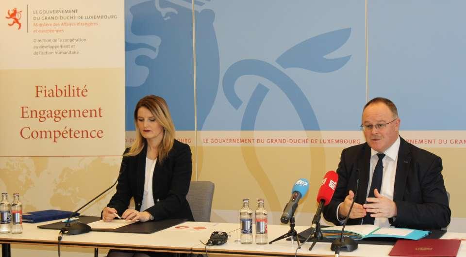 Commission de partenariat entre le Luxembourg et le Kosovo