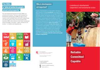 Luxembourg's development cooperation and humanitarian action